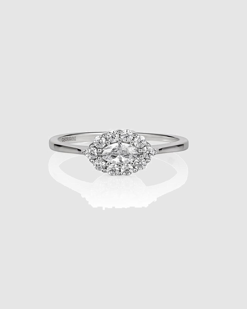 Georgini Heirloom Evermore Ring Jewellery Silver