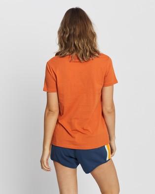 Rip Curl Logo Standard Tee - T-Shirts & Singlets (Rust)