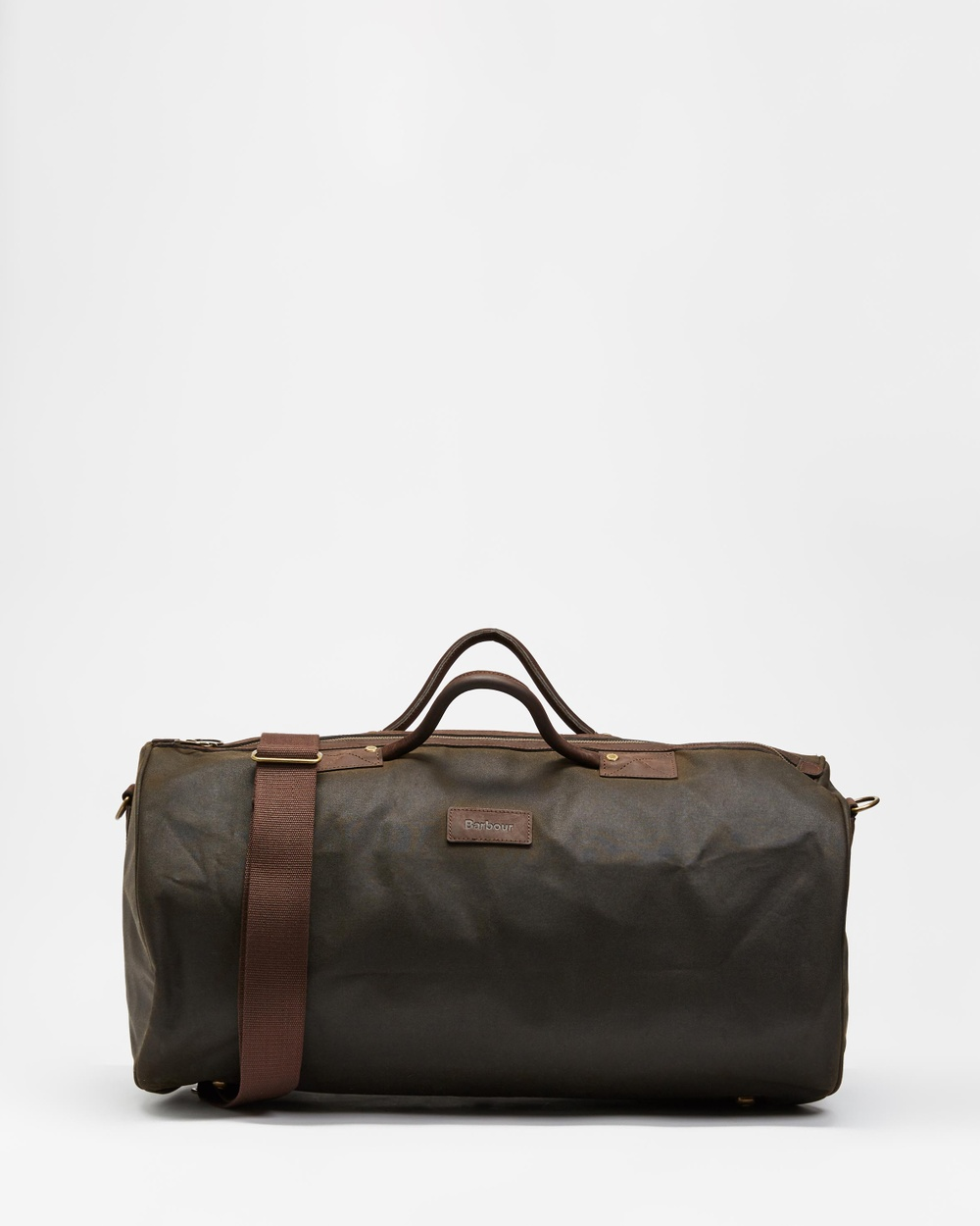 Barbour Wax Holdall Duffle Bags Olive