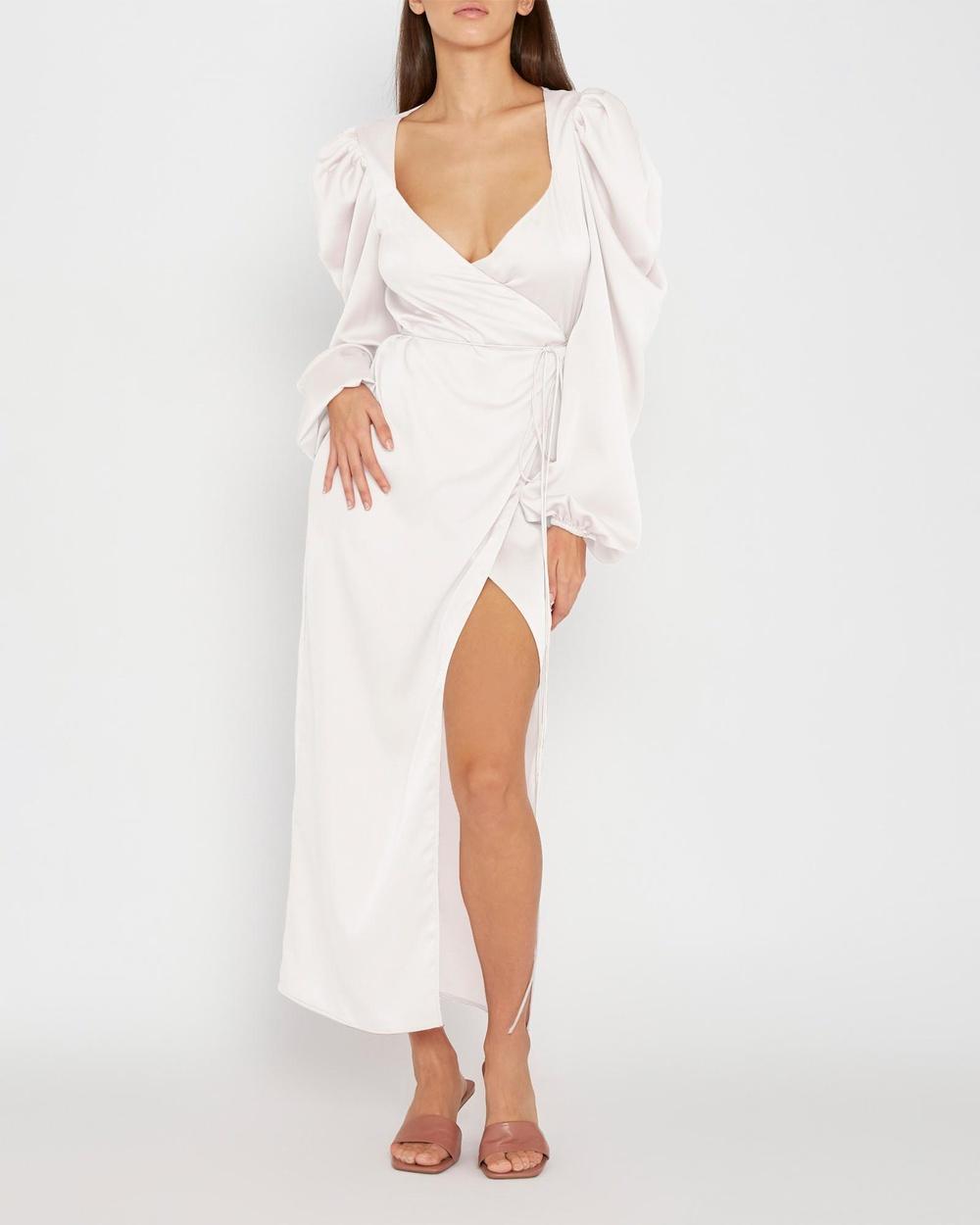 BY JOHNNY. Luna Robe Dress Bridesmaid Dresses White Australia