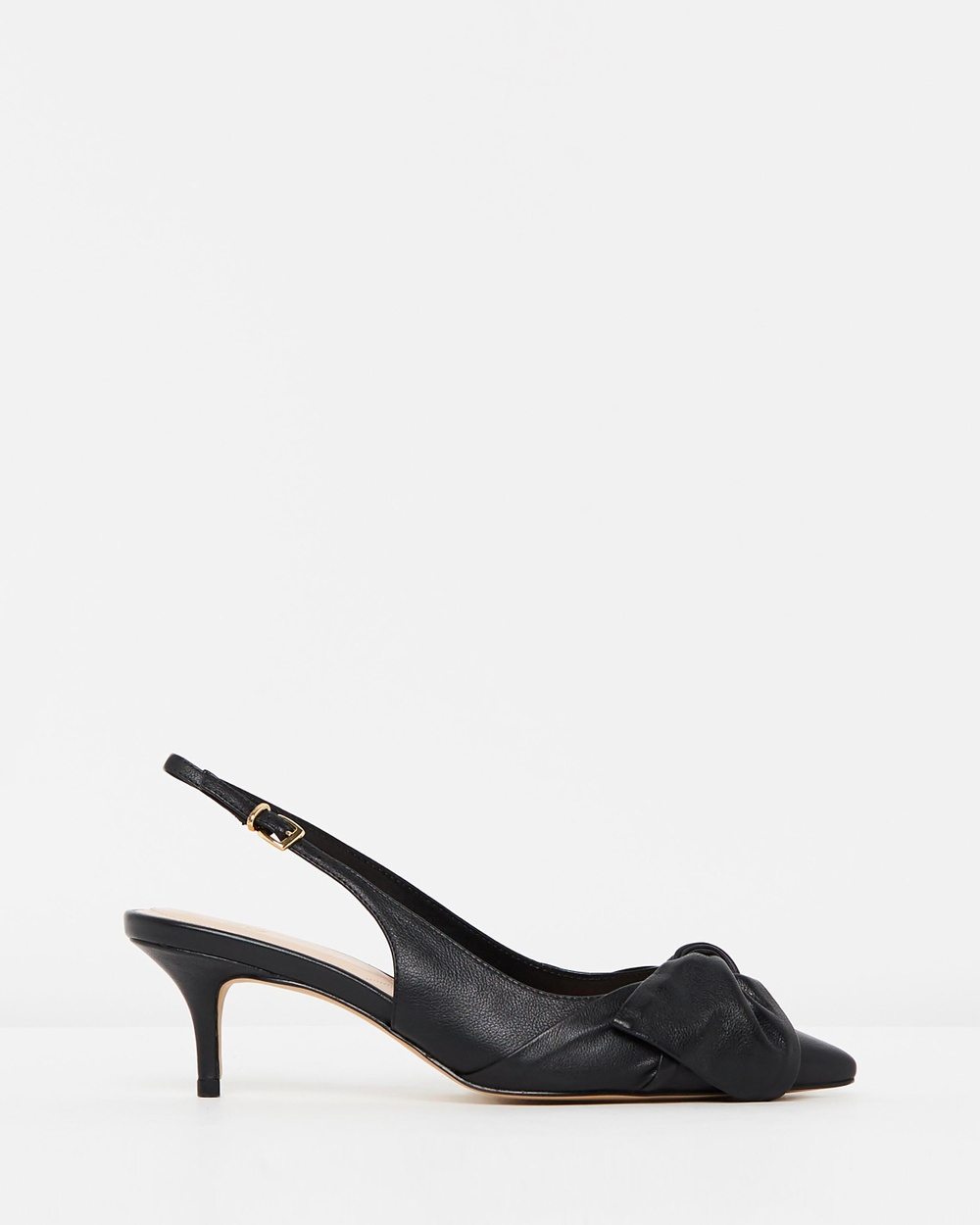 ALDO Davangus Mid-low heels Black Leather Davangus