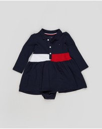 Tommy Hilfiger - Block Polo Dress - Babies