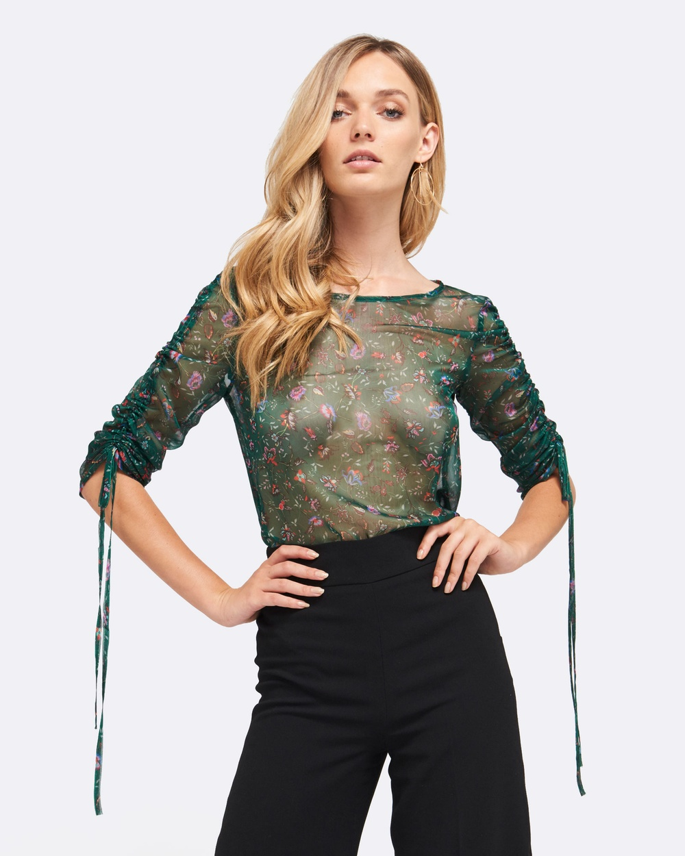 MVN Lucky Charm Top Tops Green Lucky Charm Top