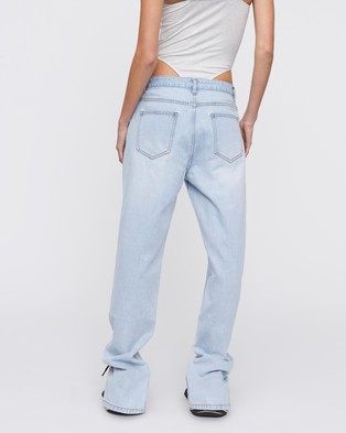 Lioness Alabama Jeans - Relaxed Jeans (Light Blue)
