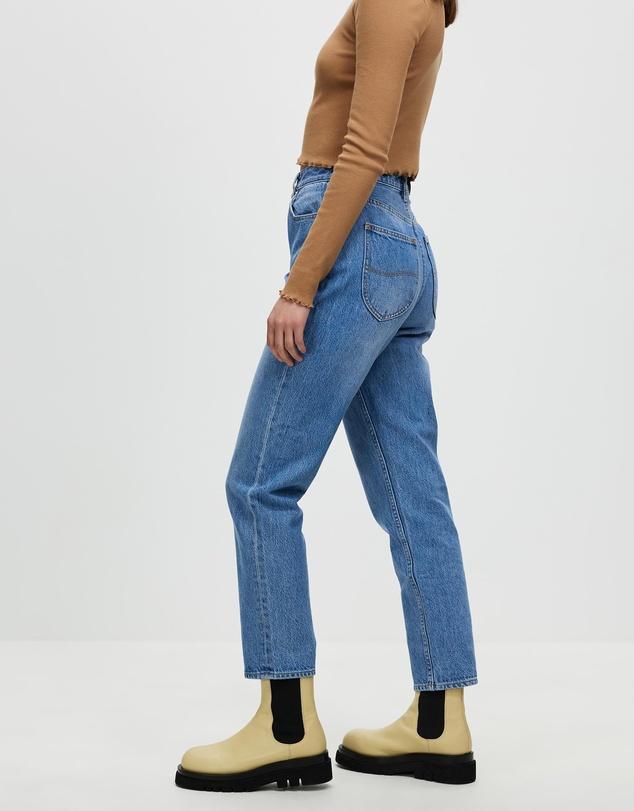 Women High Mom Jeans