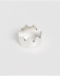 Serge DeNimes - Spiked Crown Ring
