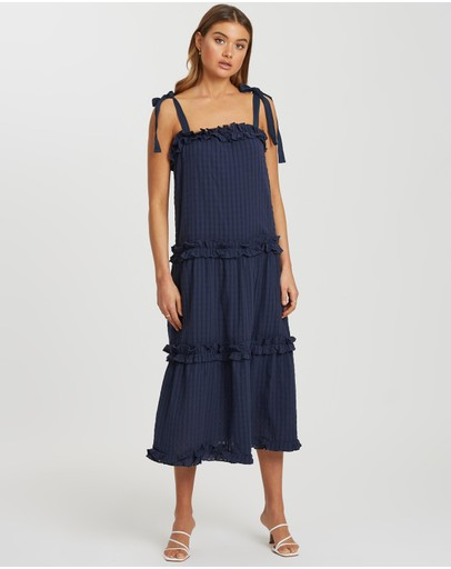 The Fated - Frida Ruffle Dress