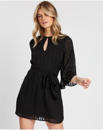 Atmos&Here - Rebekah Tie Waist Mini Dress