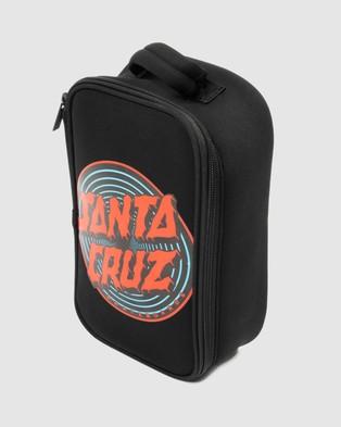 Santa Cruz Depth Dot Addition Lunchbox - Lunchboxes (Black)