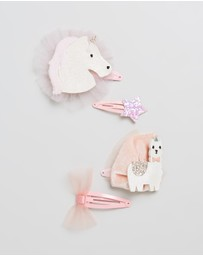 Billy Loves Audrey - Carnival Llama Clip Set