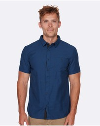 Quiksilver - Mens Waterfalls Short Sleeve Shirt