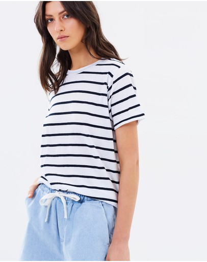 Assembly Label - Coastline Stripe Tee