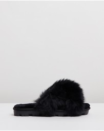 UGG - Womens Fuzzalicious Slippers