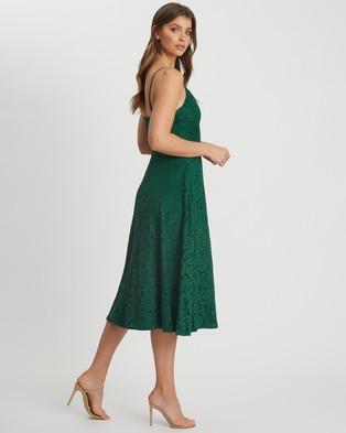 CHANCERY - Bindee Midi Dress - Bridesmaid Dresses (Emerald) Bindee Midi Dress