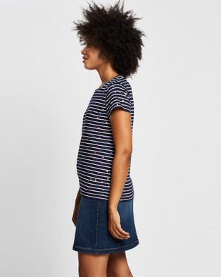 Marcs Rainbow Foil Tee - T-Shirts & Singlets (Multi)