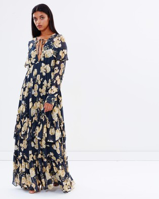 Talulah – In the Mix Gown Print