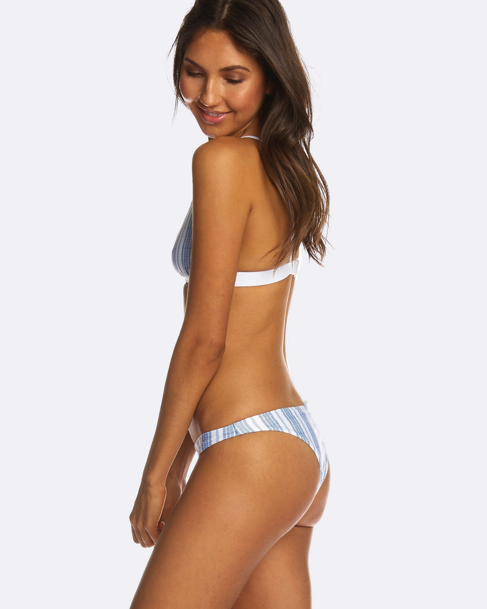 RH Swimwear Cheeky low riser Salt stripe Bikini Bottoms Salt stripe Cheeky low riser Salt stripe