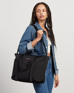 Calvin Klein Jeans - Recycled Polyester Tote Bag Bags (Black)