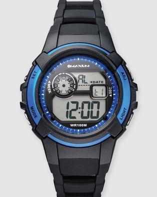 Maxum Button - Watches (Black)