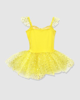 Disney Princess by Pink Poppy Disney Princess Belle Tutu - Dresses (Yellow)
