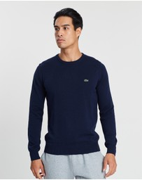 Lacoste - Crew-Neck Cotton Sweater