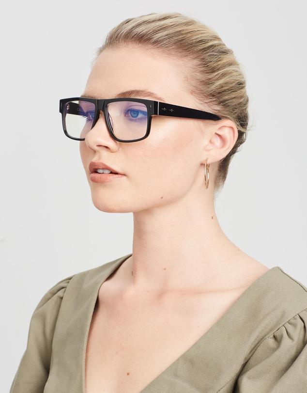 Women Mister Cartoon Optical Glasses - Blue Light Lenses