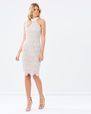Ministry of Style – Whisper Body Con Dress – Bodycon Dresses (Ivory)