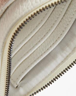 PETA AND JAIN Millie Slim Wallet - Bags (White Chevron)