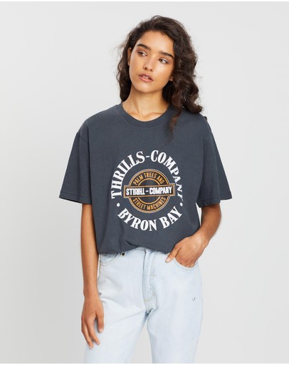 Thrills - Oversized National Band Tee
