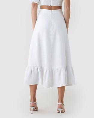 Amelius Violetta Skirt Skirts White