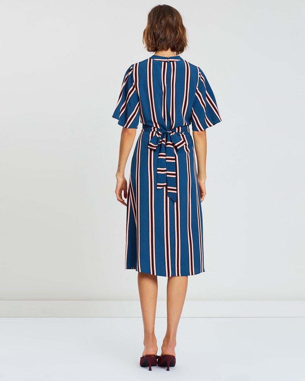 Bali Stripe Dress by Dorothy Perkins Online   THE ICONIC   Australia