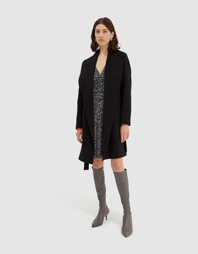 Women Perry Drape Coat