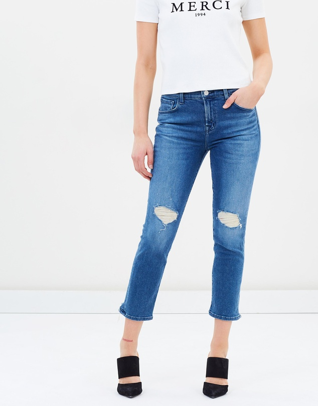J Brand - Ruby HR Crop Cigarette Jeans