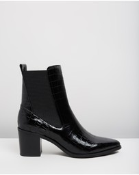 Jo Mercer - Ace Leather Ankle Boots