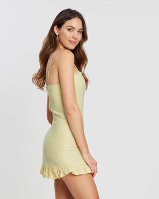 White By FTL Ebony Dress - Dresses (Lemon Sherbet)