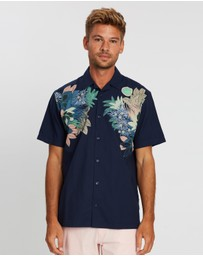 Ben Sherman - Short Sleeve Foliage Print Shirt