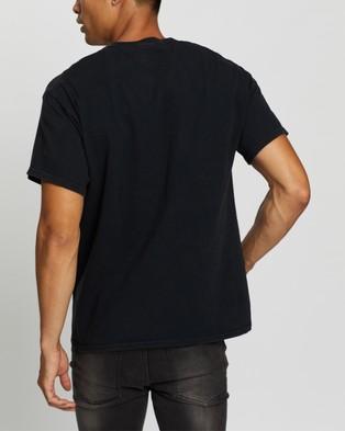 Mitchell & Ness Chicago Bulls Rodman Tee - Short Sleeve T-Shirts (Black)