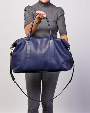 Louenhide Alexis Weekender Bag Bags Ostrich Navy