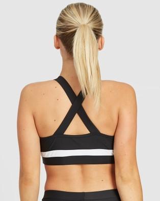 EN GARDE Apparel EG Reflect Set One - Sports Bras (White & Black)