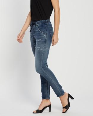 Diesel Krailey R NE Jogg Jeans - Relaxed Jeans (Dark Blue)