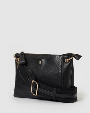 Urban Originals She Loves You Crossbody - Bags (Black/Snake)