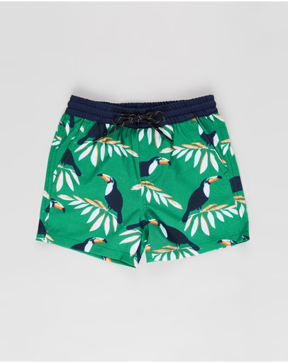 Lost Society - Print Boardshorts - Kids