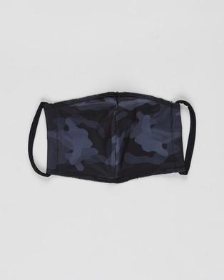 Onzie Mindful Masks 2 Pack Unisex Face Camo & Black 2-Pack