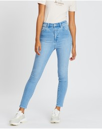 Lee - High Licks Crop Jeans