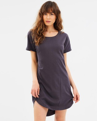 Cloth & Co. – Organic Cotton T Shirt Dress Ink