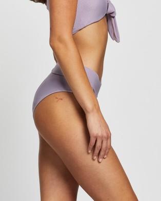 LENNI the label Pebbly Surf Briefs - Bikini Bottoms (Lilac)