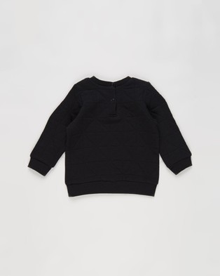 Cotton On Baby Greer Emerson Quilted Tracksuit Babies Sweats Black