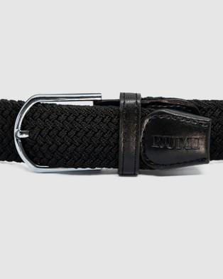 RUMI Kapa All Black Belt - Belts (Black)