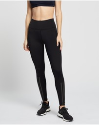adidas Performance - Believe This 2.0 Reflective 3-Stripes Long Tights