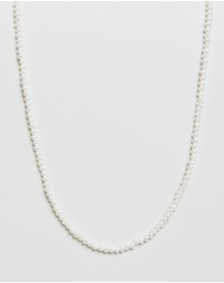 Meadowlark - Micro Pearl Necklace